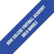 HOW College Football Academy Gold Bundle