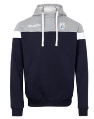 Sedgemere FC Navy/Grey Kappa Accio Hoodie