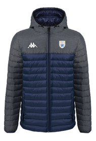 Sedgemere FC Navy/Grey Kappa Lamezio Jacket