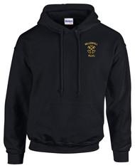 Willenhall RUFC Adult Black/Maroon Hoodie