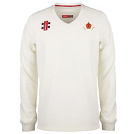 Harborne Cricket Adult Cream Long Sleeve Pro Performance Sweater