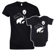 Our First Mother's Day Women's Tee and Matching Baby Bodysuit
