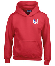 Harriers Netball Red Youth Hoodie