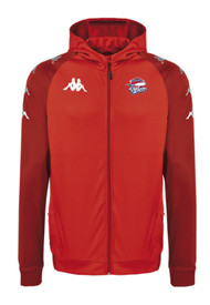 COB Rockets Tortona Coaches Full Zip Red