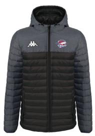 COB Rockets Doccio Coaches Jacket Grey/Black