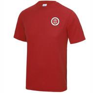 Birmingham Moseley Netball Club Unisex Fire Red T-shirt