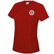 Birmingham Moseley Netball Club Women's Fire Red T-shirt