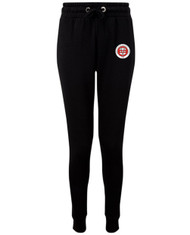 Birmingham Moseley Netball Club Women's Black Tracksuit Bottoms