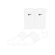 Worcestershire CCC Pathway Nike Sports Socks (Pack of 3)