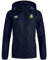 OHRFC Women's CCC Club Full Zip Rain Jacket Navy