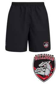 Bulldogs Black Club Shorts