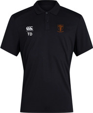 Uttoxeter Black Club Dry Polo