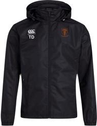Uttoxeter Black Club Vaposhield Full Zip Rain Jacket