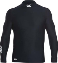 Uttoxeter Black Thermoreg Turtle Lond Sleeve Top