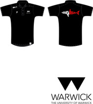 Warwick Uni Lifesaving Mens Cotton Polo with initials