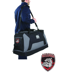 Bulldogs Black Large Sports Bag