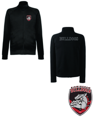 Bulldogs Black Sweat Jacket