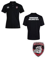 Bulldogs Black Club Dry Polo