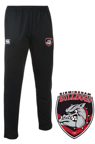 Bulldogs Black Stretch Tapered Pants
