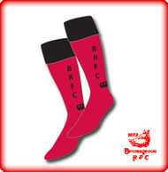 BRFC Red/Black Cap sock