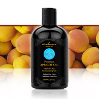 APRICOT OIL  – Soften Fine Lines, Condition Dry Hair and Soothe Irritated Skin. Rich in Essential Poly-Unsaturated Fatty Acids, with a Delicate Texture