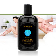 CELLULITE MASSAGE OIL  –  Powerful Botanical Elixir Helps Reduce the Appearance of Cellulite. Stimulates Blood Circulation, Smoothes Down Skin and Smells Divine!