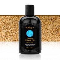 SESAME OIL  – The Queen of the Oils! Has Vitamin E, Antioxidants, Linoleic Acids and More... Instantly Seals in Moisture for Lustrous Hair and Glowing Skin