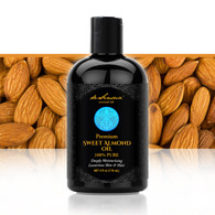 ALMOND OIL, Sweet - Secret All-Natural Weapon Against Wrinkles, Fine Lines, Chapped Lips, Split Ends, Dark Circles, Stretch Marks and Stress… Phew, What a Wonder Oil!