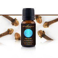 CLOVE ESSENTIAL OIL - of 100% Proven Purity - Most Popular for Toothache and Headaches