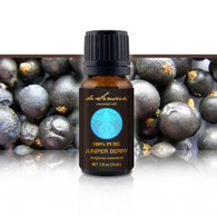 JUNIPER BERRY ESSENTIAL OIL - of 100% Proven Purity - Most Popular for Detoxification and Muscle Cramping