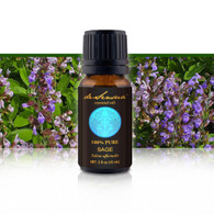 SAGE ESSENTIAL OIL - of 100% Proven Purity - Most Popular for Helping PMS and Menstrual Cycle