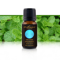 SPEARMINT ESSENTIAL OIL - of 100% Proven Purity - Most Popular for Morning Sickness and Motion Sickness