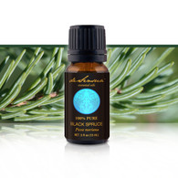 BLACK SPRUCE ESSENTIAL OIL - of 100% Proven Purity - Most Popular for Immune System Boosting