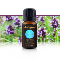 THYME ESSENTIAL OIL -  - of 100% Proven Purity - Most Popular for Gas Relief and as an Antioxidant