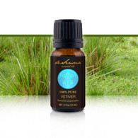 VETIVER ESSENTIAL OIL - of 100% Proven Purity - Most Popular for Better Sleep and Calming