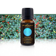 WINTERGREEN ESSENTIAL OIL - of 100% Proven Purity - Most Popular for Muscle Pain and Headaches