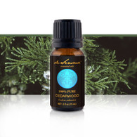 Premium Cedarwood Oil, 15 ml-100% Pure Essential Oils