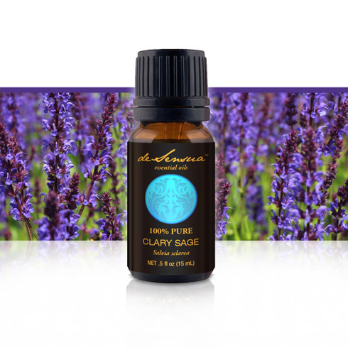 Premium Clary Sage, 15 ml-100% Pure Essential Oils