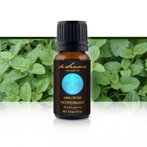 Premium Peppermint Oil, 15 ml-100% Pure Essential Oils | DeSensua