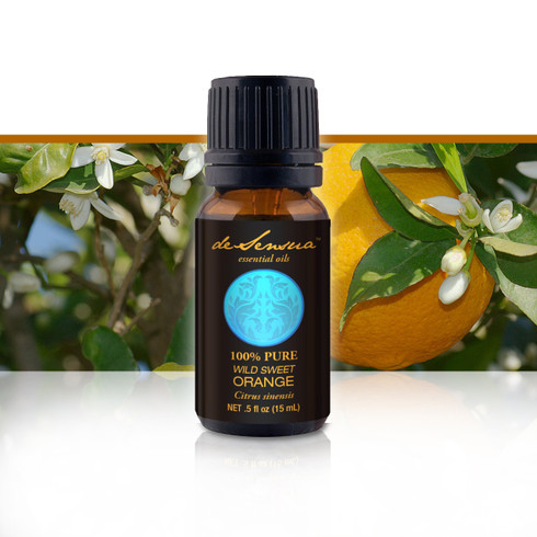 Premium Sweet Wild Orange Oil, 15 ml-100% Pure Essential Oils | DeSensua