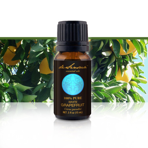 Premium White Grapefruit Oil, 15 ml-100% Pure Essential Oils