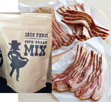 Zazu Farm Corn Bread Mix +  (3 ) BLACK PIG BACON
