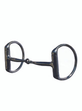 "D Ring Snaffle AVB-200 Mouth: 5 ½"", Rings:  3""  A traditional snaffle mouthpiece, this bit is lightweight and designed for all disciplines. This bit provides great lateral control and is very popular."