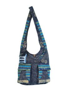 """X3-7 - Summer School Bag Assorted Colors 15"""" x 14"""""""