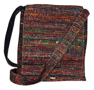 "PMMB  -  Silk Baba Hand Bag Assorted Colors 12"" x 13"""