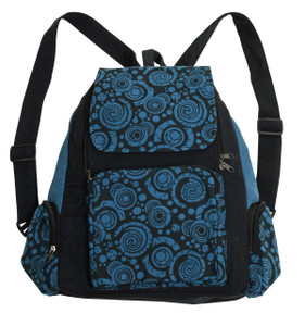 3 pocket Back Pack with great orbit design