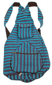 Foldable Back Pack. Zippers into it's own pouch - multiple compartments