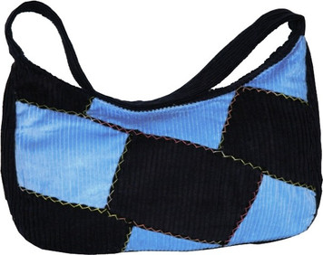 """A-3  -  Patch Clutch Hand Bag Assorted Colors 15"""" X 7"""""""