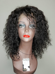 180% Density Breathable Spiral Curls 360 Frontal Wig- Short Curly Wig