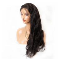 180% Density Breathable Body Wave 360 Lace Frontal Wig